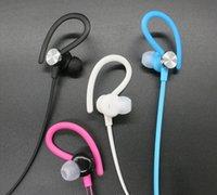 Wholesale Bluetooth earphone fashion sport ear hook earphone colorful multi color