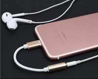 bag jacks - Metal mm Jack Aux Audio Cable Male To Female Headphone Cable Adapter for iPhone Plus opp bags