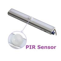 Wholesale Body Sensor Cabinet Light Battery Powered LED W V Drawer Light Wardrobe Light PIR Sensor Stick Anywhere CE RoHs