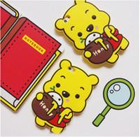 bear mating - Cute D Cartoon Honey Bear Winnie Pooh Silicone Case For Huawei Ascend P8 P8 LITE P9 P9 lite Mate Mate