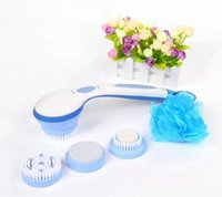 Wholesale Bath Spin SPA Massage Electric Shower Brush in Cleaning System Long handled