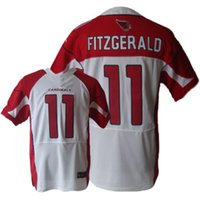 Wholesale Men Football Cardinals FITZGERALD Elite Embroidered With C Patch jersey