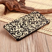 Wholesale 2017 Hot selling Natural Wooden Phone Case for IPHONE PC hard back cover Phone Protective Laser Engraving phone case for sales