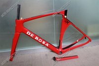 Wholesale 2016 Newest Red De Rosa SK T1000 UD Full Carbon Road Bicycle Frame cm available BB386 BB30 or BB68 adapter