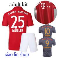bayer thailand - 2016 AAA Thailand the best quality jersey Bayerns Muniches jersey Müller Lewandowski football clothes
