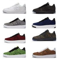 air force cycling - air force cushion skateboard shoes Men Women cheap walking sneakers Sport boots knit casual af1 shoe Dropshipping high quality