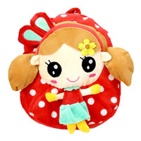 Wholesale New rabbit girls years old children s plush cartoon shoulders endorsement bag large concessions