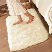 bath dust - Non slip Mat Bathroom Floor Rugs Plush Memory Velvet Mats Dust Doormat Floor Rug Carpet Floor Bath Mat Suede cm