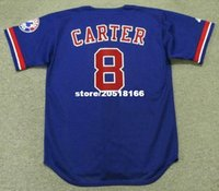 Wholesale GARY CARTER Montreal Expos Majestic Throwback Baseball Jersey
