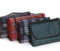 Wholesale log X200cm Outdoor camping mat picnic Blanket Foldable Baby Climb Plaid Blanket Waterproof Beach blanket
