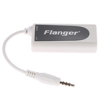 Wholesale High Quality Small and Exquisite White Guitar Bass for Android Apple iPhone iPad iPod Touch Music Converter Adapter
