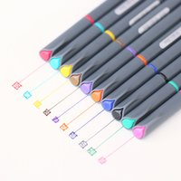 advertising lines - Fine line drawing pen for manga cartoon advertising design Water Color pens Stationery Office school supplies