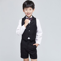 beach attire - CHENLVXIE New Style Summer Boys Attire For Beach Wedding Kid Pageant Suit Children Groom Custom Made Shirt Pants Tie WE009