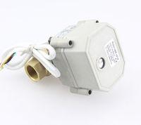 ball valves water control - DN32 YIDAY CR3 CR5 DC12V V Way Brass Motorized Ball Valve NPT BSP Electrical Ball Valve quot DN32
