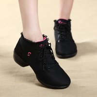 ballroom dance shoe brands - Brand New Sports Feature Soft Outsole Breath Dance Shoes Sneakers For Woman Practice Shoes Modern Dance Jazz Shoes