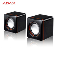 as pic as pic as pic Wholesale- Mini Desktop 3.5mm USB Powered Computer Speaker for Desktop Laptop Notebook Tablet PC iOS Android Windows USB Speakers