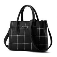 Wholesale New tide fashion lattice bag Messenger Messenger shoulder bag Korean version of the wild package