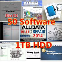 Wholesale 2017 alldata and mitchell software v10 newest in1 fits for bit in gb hdd vivid workshop heavy truck