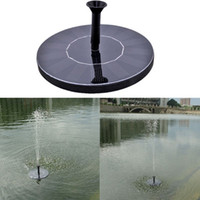 Wholesale Solar Power Fountain Water Pump Floating Panel Pool Garden Pond Watering