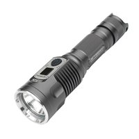 Wholesale JETBeam DDR26 Cree XP L LED Lumens USB Rechargeable Digital Display Flashlight Electric Torch Compatible with Battery
