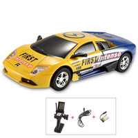 wholesale 24g rc car proportional control 4channel remote control car professional lcd model car toy car best gift for kids