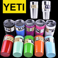left~ - colorful Yeti oz oz Cups Cooler YETI Rambler Tumbler Travel Vehicle Beer Mug Double Wall Bilayer Vacuum Insulated OTH242