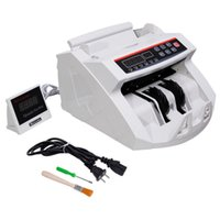 4-digit Counters bank counting machine - New LCD Display Money Bill Counter Counting Machine Counterfeit Detector UV MG Cash Bank