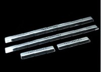 Wholesale Door sill strip car accessories car styling For Nissan QASHQAI welcome pedal Trim