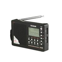 Wholesale TECSUN PL Digital PLL Portable Radio FM Stereo LW SW MW DSP Receiver Full band Digital Demodulator Radio Built In Speaker