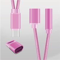 Type-C For letv xiaomi type-c to 3.5mm earphone adapter For Letv Type c to 3.5 mm Converter Headphone Jack Charging Adapter Cable for Le 2, Le 2 pro, Le Max
