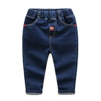 Wholesale Trousers Kids Jeans Boys Pants Spring Fall Children Cotton Boutique Clothes for Girls Fashion Toddler Clothing Hot Sale