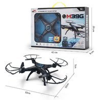 Wholesale Fashion quad copter M39GW four axis aircraft upgrade set high camera WIFI map transmission real time transmission aerial camera