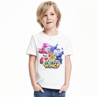 Cheap Broadcloth children's T-shirt Best Fashion 12 super wings