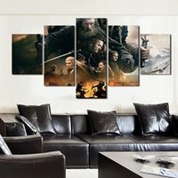 Wholesale 5 Pieces set Wall Art Printed Painting Canvas Painting Fallout Children s Room Decor Print Canvas Painting Poster Pictures