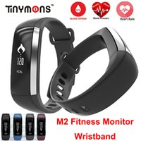Wholesale M2 Blood Pressure Wrist Watch Pulse Meter Monitor Cardiaco Smart Band Fitness Tracker Smartband Call SMS iOS Android Bracelet Mi