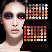 beauty earth - Makeup Eye Shadow Fashion Color Earth Warm Shimmer Matte Palette Cosmetic Eye Shadow Pallete Women Make Up Beauty
