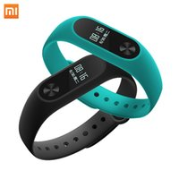 Wholesale Xiaomi Mi Band Wristband Bracelet Smartband OLED display touchpad Smart Heart Rate Fitness OLED Screen Miband2
