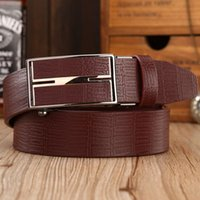 Belts mens casual accessories - 2016 Mens Luxury Brand Belt Business Belts Automatic Buckle Genuine Leather Belt Men Accessories Casual Fashion Belt New