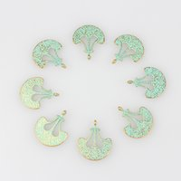 axe charm - MM Retro Verdigris Patina Plated Zinc Alloy Green Anchor Axe Charm Pendants For DIY Jewelry Accessories
