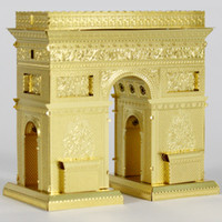 Yes arch metal buildings - Triumphal arch d puzzle toys metal DIY craft building model Kids Adult Intelligence toys PT1020