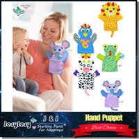 animal designs gloves - Sozzy Baby Hand Puppet Toy Animal Shape cm Soft Multicolor Lovely Gloves Cute Design Infant Gifts