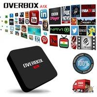 Wholesale OVERBOX A1X MXQ Pro Android k Ott TV BOX Kodi XBMC Fully Loaded Android tv box Quad Core GB GB Media T95m T95n T95z Qbox