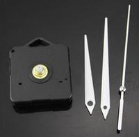 Reloj de pared de cuarzo Mecanismo de movimiento Reparación de bricolaje Kit de piezas de herramientas Manos blancas