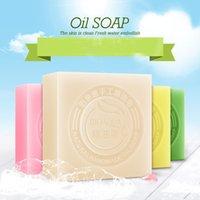 Wholesale Skin Care product Beauty skin BIOAQUA Aloe soap jasmine soap goat milk soap essence oil soap g