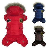 Wholesale Europe and the United States selling Pet clothes USA1 Air Force flight suit Dog clothes Puppy clothing