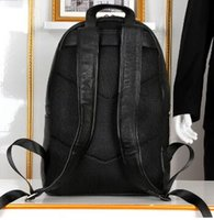 Wholesale Top quality brand new genuine leather backpack shoulders bag tote satchel school bag G112