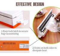Wholesale TintonLife V Household Food Vacuum Sealer Packaging Machine Film Sealer Vacuum Packer Including Bags