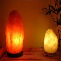 air weigh - Heming Weigh Natural Air Purifying Himalayan Rock Salt Obelisk Lamp with Wood Base Natural Himalayan rock salt lamp