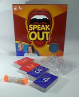 Wholesale In Stock Speak Out Games Ridiculous Mouthpiece Challenge Game game for your mouthpiece with paper cards New