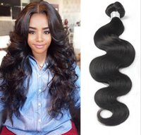 Wholesale Unprocessed Brazilian Body Wave Virgin Human Hair Weave Bundles A Peruvian Malaysian Indian Cambodian Mongolian Hair Extensions Double Weft